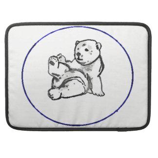 """Bolsa Para MacBook Hector o urso Mac Book pro 15"""" cobrir"""