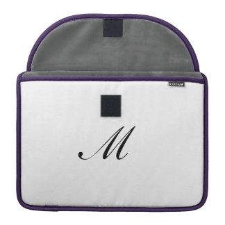 Bolsa Para MacBook Mármore cor-de-rosa do ouro