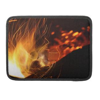 Bolsa Para MacBook Pro Fogo ardente de carvão