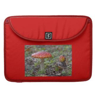 Bolsa Para MacBook Pro Toadstool do Agaric de mosca