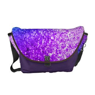 Bolsa roxa cor-de-rosa feminino do bolsa do saco d