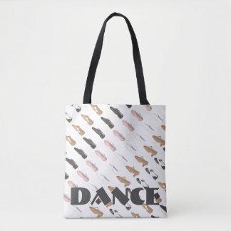 Bolsa Tote A dança lírico do jazz da torneira do balé calça o