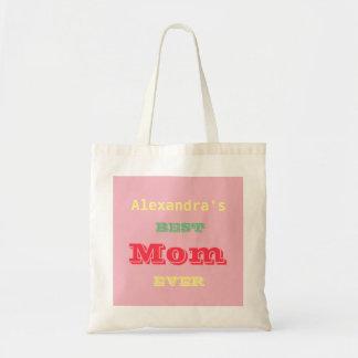Bolsa Tote A melhor mamã do dia das mães nunca