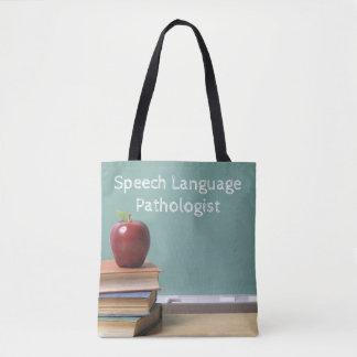 Bolsa Tote A patologia de discurso é meu saco