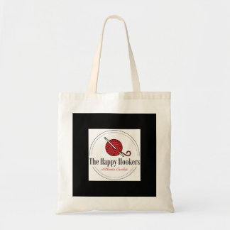 Bolsa Tote A sacola feliz do logotipo do Crochet de H Atlanta