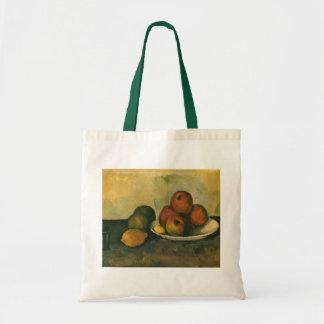 Bolsa Tote Ainda vida com as maçãs por Paul Cezanne