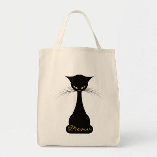 Bolsa Tote APAL: Meow do gato preto