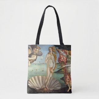 Bolsa Tote Arte de renascimento, o nascimento de Venus por