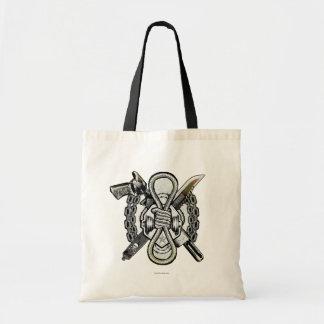 Bolsa Tote Arte do tatuagem das armas do pelotão | Slipknot