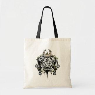 Bolsa Tote Arte do tatuagem dos símbolos do Enchantress do