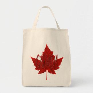 Bolsa Tote As bolsas da folha de bordo de Canadá das sacolas