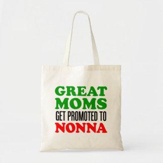 Bolsa Tote As grandes mães obtêm promovidas à sacola do