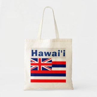 Bolsa Tote Bandeira do Hawaiian de Havaí