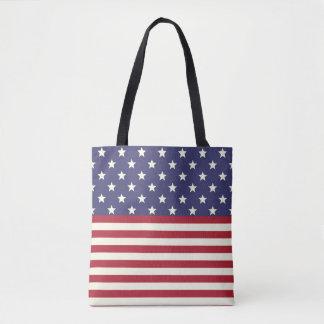 Bolsa Tote Bandeira dos Estados Unidos EUA patrióticos da