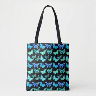Bolsa Tote Borboleta frente e verso do saco | das borboletas
