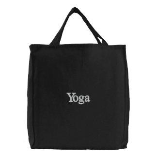 Bolsa Tote Bordada Saco da ioga