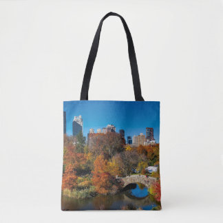 Bolsa Tote Central Park na folha New York do outono