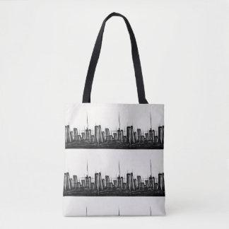 Bolsa Tote Cidade escura