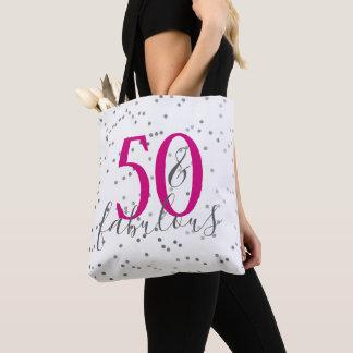 Bolsa Tote Cinqüênta & sacola fabulosa dos confetes