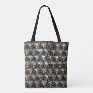 Bolsa Tote Cubos abstratos