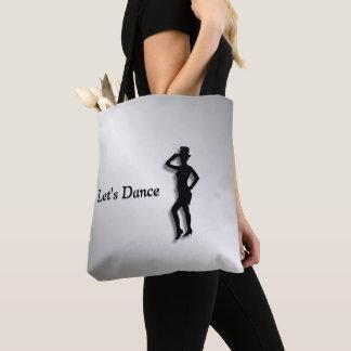 Bolsa Tote Dançarino de torneira