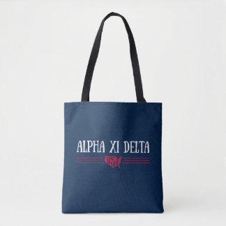 Bolsa Tote Delta EUA do alfa Xi