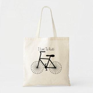 Bolsa Tote Design personalizado da bicicleta