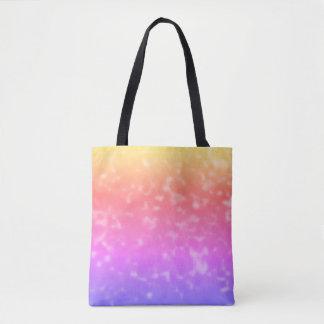 Bolsa Tote Divertimento do arco-íris