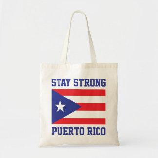 Bolsa Tote Estada Puerto Rico forte após o furacão Maria