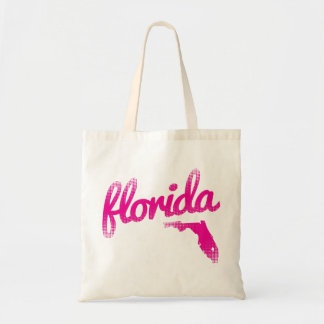 Bolsa Tote Estado de Florida no rosa