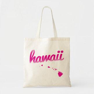 Bolsa Tote Estado de Havaí no rosa