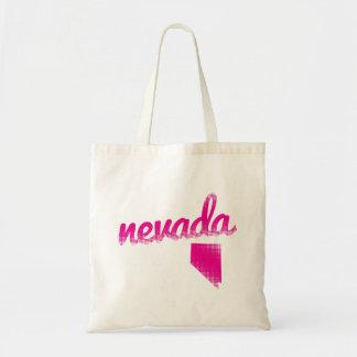 Bolsa Tote Estado de Nevada no rosa