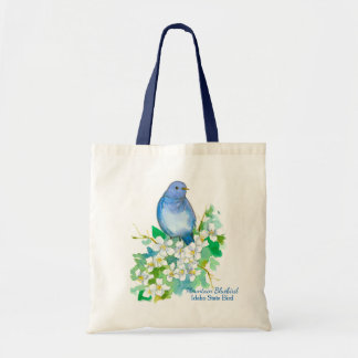 Bolsa Tote Estado do Syringa do Bluebird da montanha de Idaho