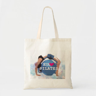 Bolsa Tote Eu <3 Pilates na sacola!