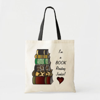 Bolsa Tote Eu sou um toxicómano da leitura do livro