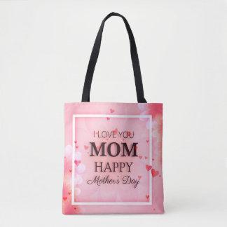 Bolsa Tote Eu te amo sacola do dia das mães da mamã