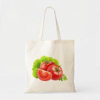 Bolsa Tote Folhas do tomate e da alface