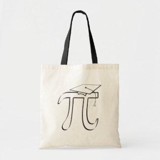Bolsa Tote Formando do Pi da matemática