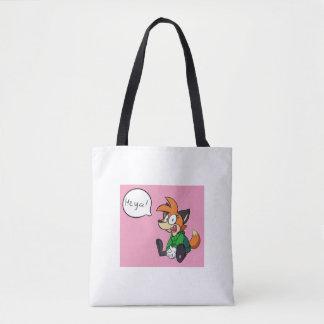 Bolsa Tote Fox amigável