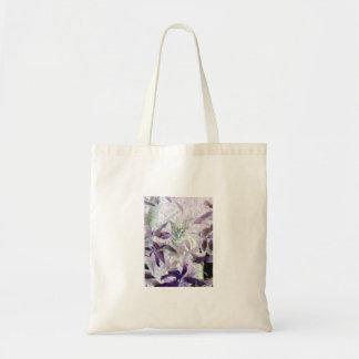 Bolsa Tote Gatinho bonito nos arbustos, arte abstrata do gato