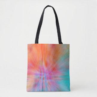 Bolsa Tote Golpes grandes abstratos 002 coloridos