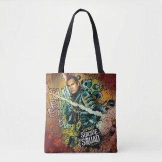 Bolsa Tote Grafites do caráter do pelotão | Slipknot do