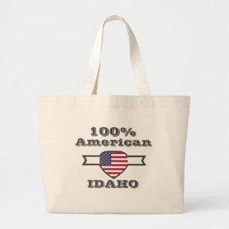 Bolsa Tote Grande Americano de 100%, Idaho