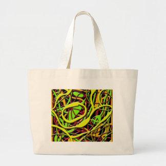 Bolsa Tote Grande Arbusto do cobra