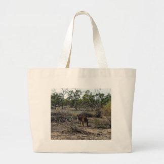 Bolsa Tote Grande Canguru, _Outback, _Australia, _