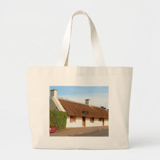 Bolsa Tote Grande Casa de campo de Robert Burns, Alloway, Scotland