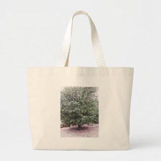 Bolsa Tote Grande Cultivar antigo da flor do japonica da camélia
