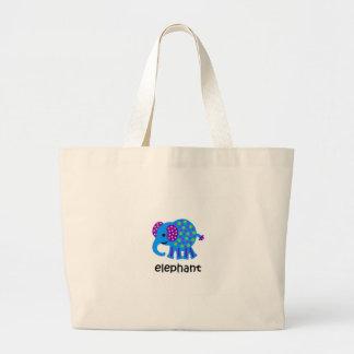 Bolsa Tote Grande Elefante