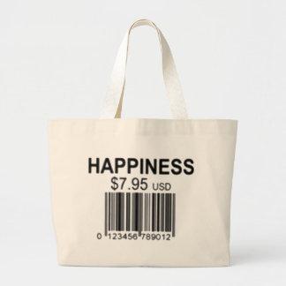 Bolsa Tote Grande felicidade