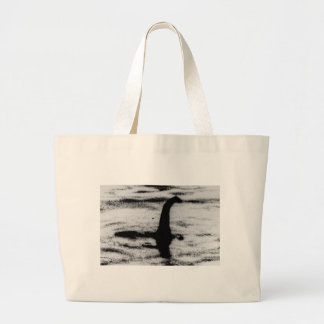 Bolsa Tote Grande Monstro de Loch Ness